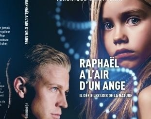 "Page de couverture de ""Raphaël a l'air d'un ange "" de Véronique d'Anthonay"