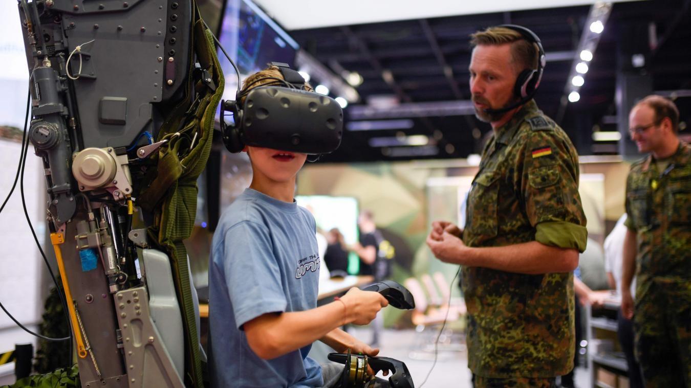 Gamescon 2019, l'armée allemande recrute des gamers