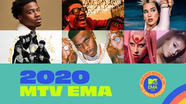 MTV EMA 2020: Lady Gaga, BTS et Justin Bieber en tête des nominations