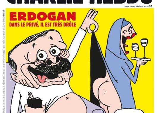 La Une de Charlie Hebdo attaquant Erdogan.