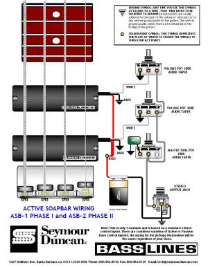 Active Jazz Bass Wiring Diagram | Wiring Library