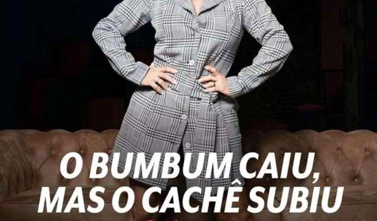 Gretchen rebate revista Veja Rio após publicarem capa machista