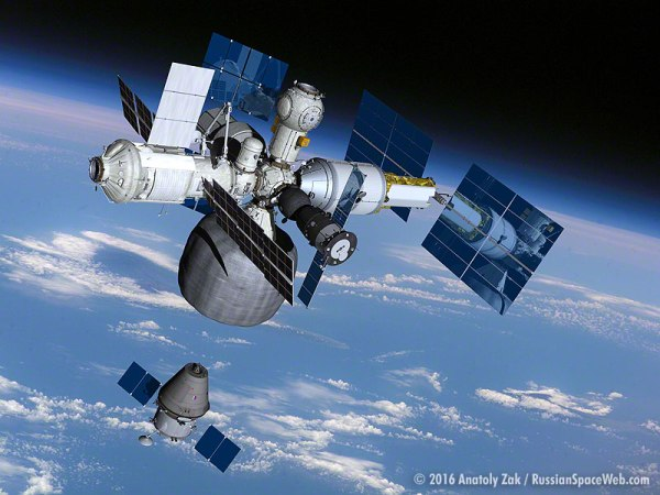 Russias Plan To Spin Off a New Space Station From the ISS