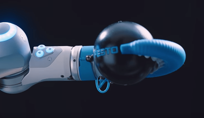 festo octopus robot