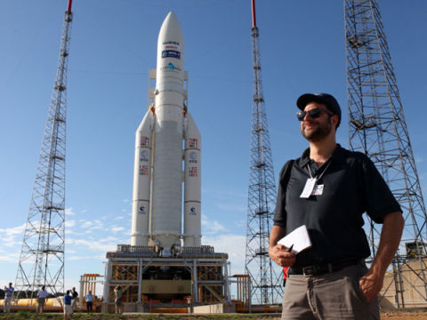 7 Sights From a Jungle Spaceport Launch