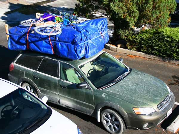 Whether You Use A Roof Rack Pickup Truck Bed Or Even Utility Trailer To Move Bulky Item Make Sure Proper Tie Down Straps Secure The Load
