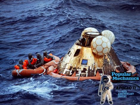 Apollo 11 Entry and Splashdown - The Untold Story of NASA ...