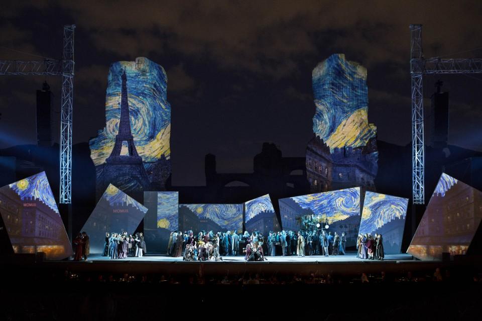 LA BOHEME Musica di Giacomo Puccini - Terme di Caracalla 2014 Di
