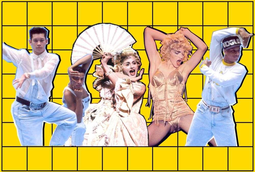 """Del """"ball"""" al mainstream: el VOGUE de Madonna"""