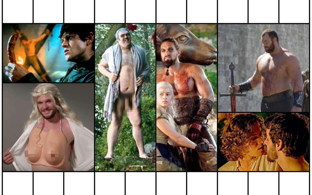 TODOS los desnudos (que nos interesan) de JUEGO DE TRONOS