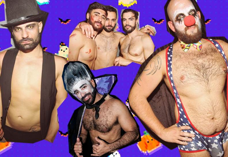 Popair Halloween Fiesta Gay Barcelona Desnudos