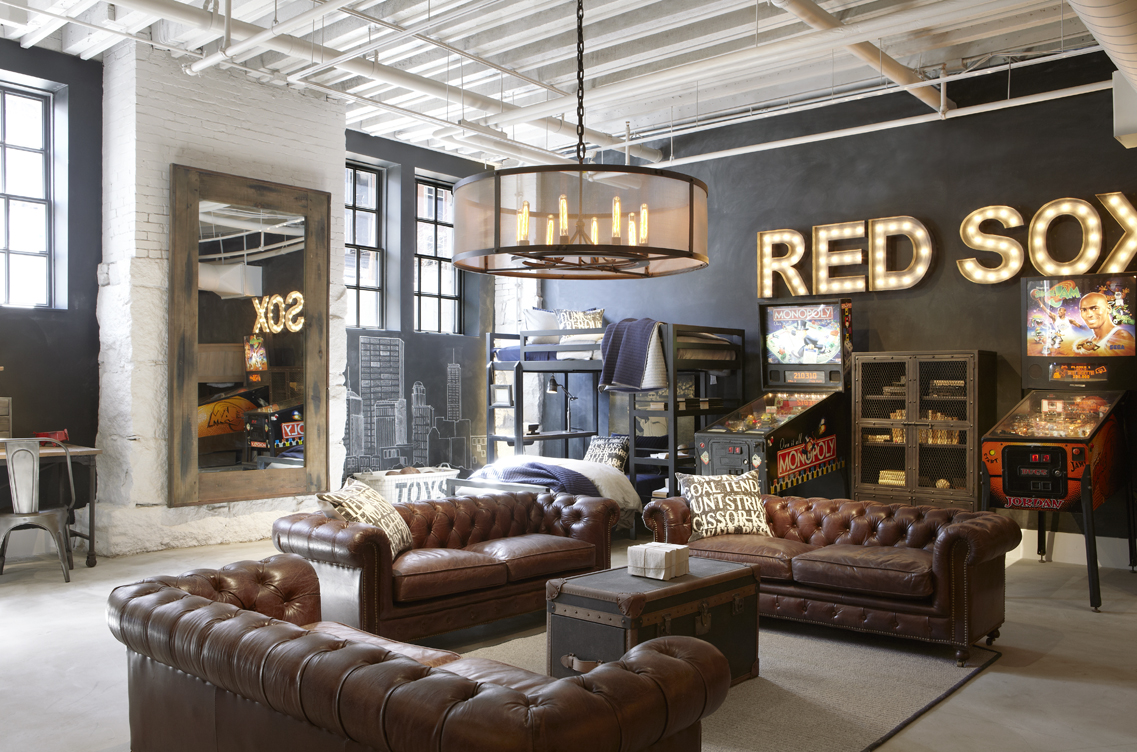 A Tour Of The Restoration Hardware Flagship Store In
