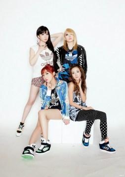 2NE1 Adidas 2014