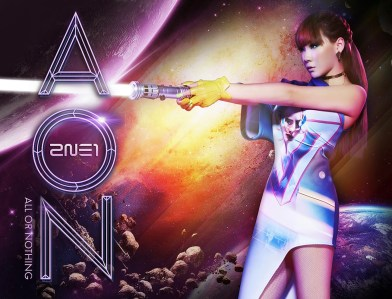 2NE1 All or Nothing AON Sci-fi Concept Photo (5)