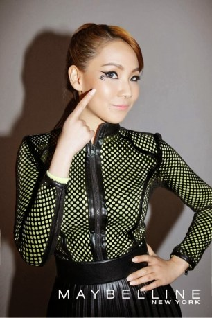 CL Lee Chaerin Maybelline New York