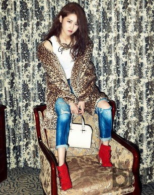 Gayoon 4minute - bnt International December 2013 (6)