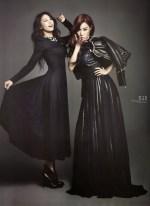 Tiffany SNSD and Bora SISTAR - Harper's Bazaar Magazine January Issue 2014 (2)