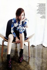 Jessica Jung SNSD - Harper's Bazaar Magazine May Issue 2014 (3)
