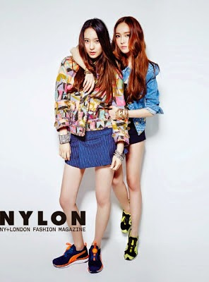 Jessica SNSD and f(x) Krystal - Nylon Magazine June Issue 2014 (4)