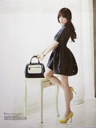 Tiffany Hwang SNSD Girls' Generation - Vogue Girl Magazine March Issue 2014 (7)