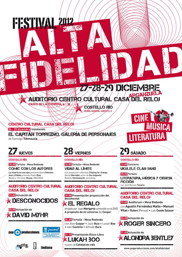 Festival ALTA FIDELIDAD 2012