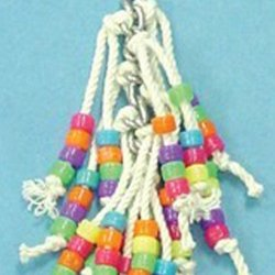 Bird Brainers String Toy w/ Beads 7.5in