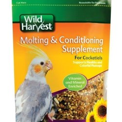 8 in 1 Wild Harvest Molting & Conditioning Supplement for Cockatiels (7.5oz)