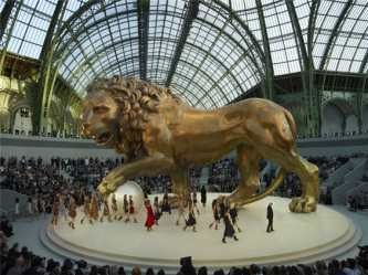 chanel_haute_couture_2010_lion_centerpiece