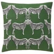 almofadas padrão Zebra do DwellStudio