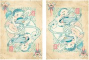 "Desejo | poster para a ""Don't Panic Portugal"" | Janeiro 2011"