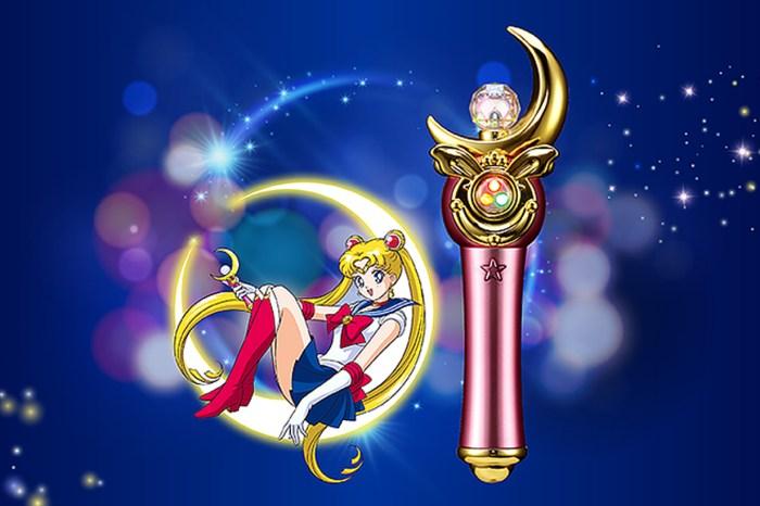 看這新月魔法杖怎能不心動?《美少女戰士》推出超夢幻限量行動電源!