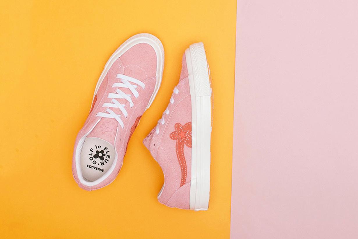這雙 Converse 長得不太一樣 粉紅小花 GOLF LE FLEUR 新色上市