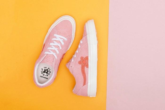 這雙 Converse 長得不太一樣?粉紅小花 GOLF LE FLEUR* 新色上市!