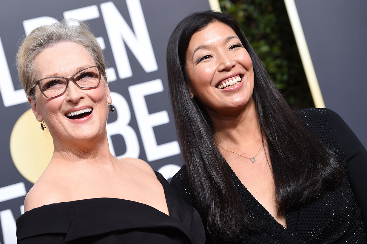 Meryl Streep 和這位台灣女性走紅毯 外國媒體 這組合大加分