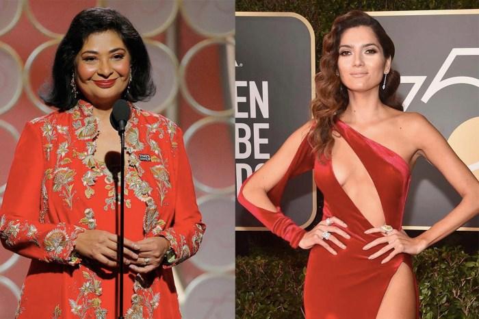 金球獎眾女星黑衣走紅毯,為什麼還是有人選擇一身紅衣出席?