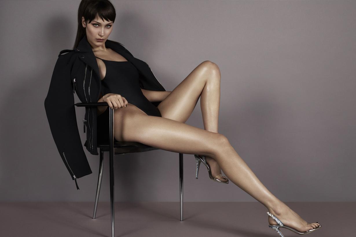 這腿太犯規 Bella Hadid 開高衩性感入鏡 Giuseppe Zanotti 春夏廣告