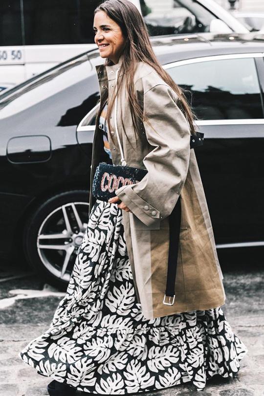 街拍達人教你 11 個時尚又不用捱冷的冬日裙子穿搭