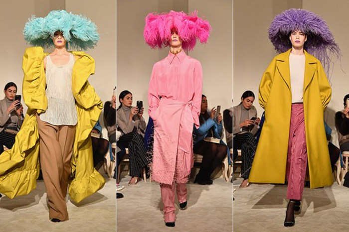 Valentino 替「沉浸在浮誇世界裡」的人們設計了這款羽毛帽!