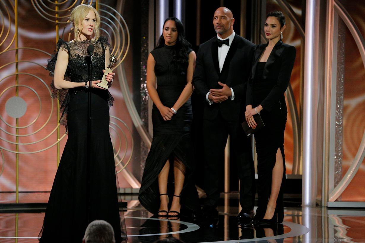 你不需出席金球獎 在家裡也能和大明星一起響應 Time's Up 聲援受害女性
