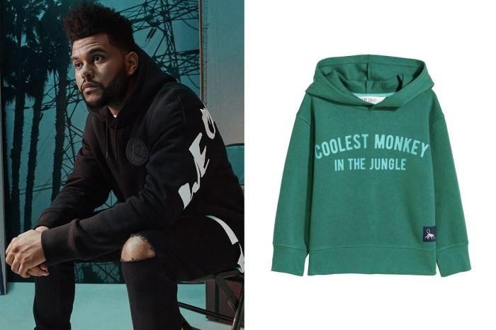 The Weeknd 也生氣了?H&M 的新衣惹爭議