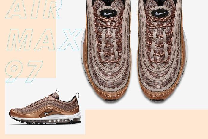 又有新色到!Nike Air Max 97 推出 Lusty Bronze 展現低調華麗