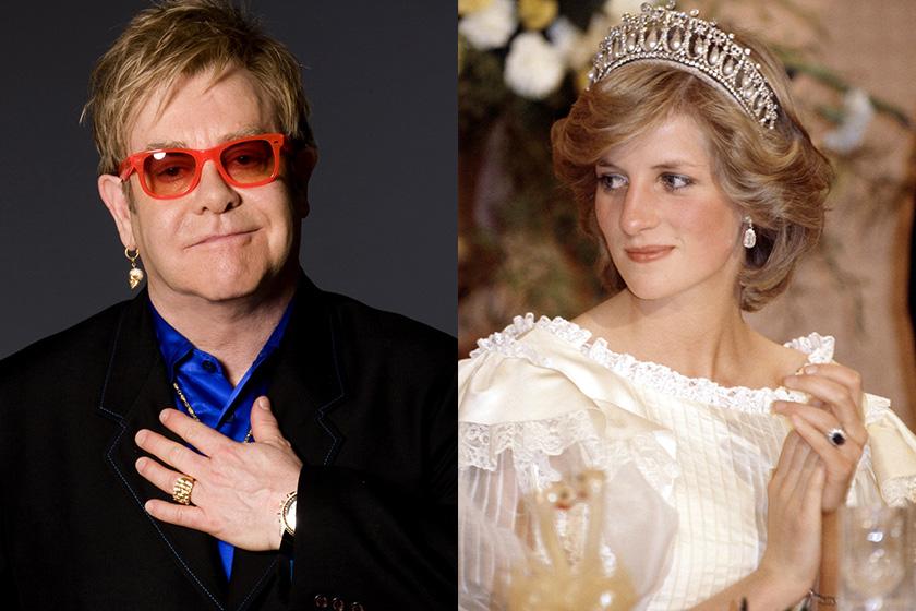 Elton John 認了曾與黛安娜王妃不和她某方面性格蠻極端的 Diana