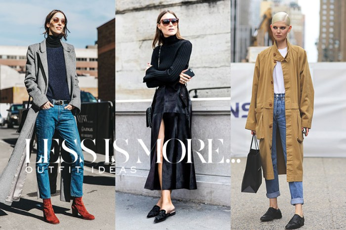 Less Is More 之穿搭美學: 31 個簡約冬日造型,足以為你帶來一個月的穿搭靈感!