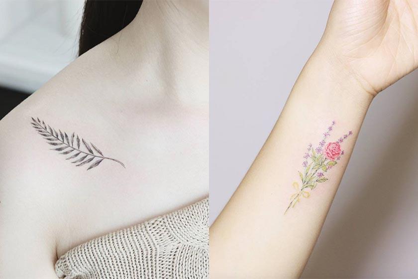 想刺青又怕太招搖 從這些文青系圖騰裡找靈感吧