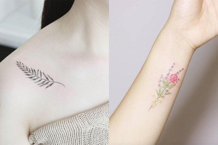 想刺青又怕太招搖?從這些「文青系圖騰」裡找靈感吧!