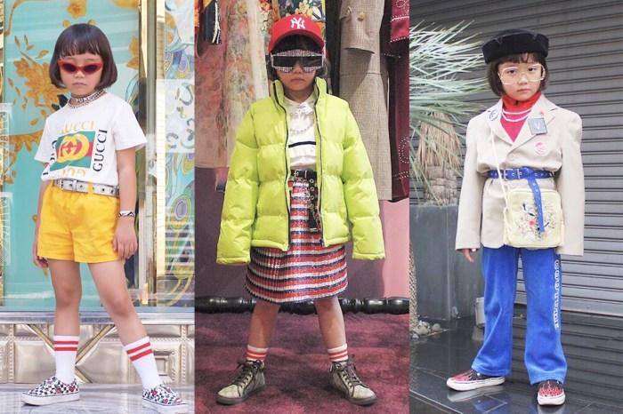 品味從小養成!這位 6 歲小女孩 coco 紅遍時尚圈,連法國名模都稱讚!