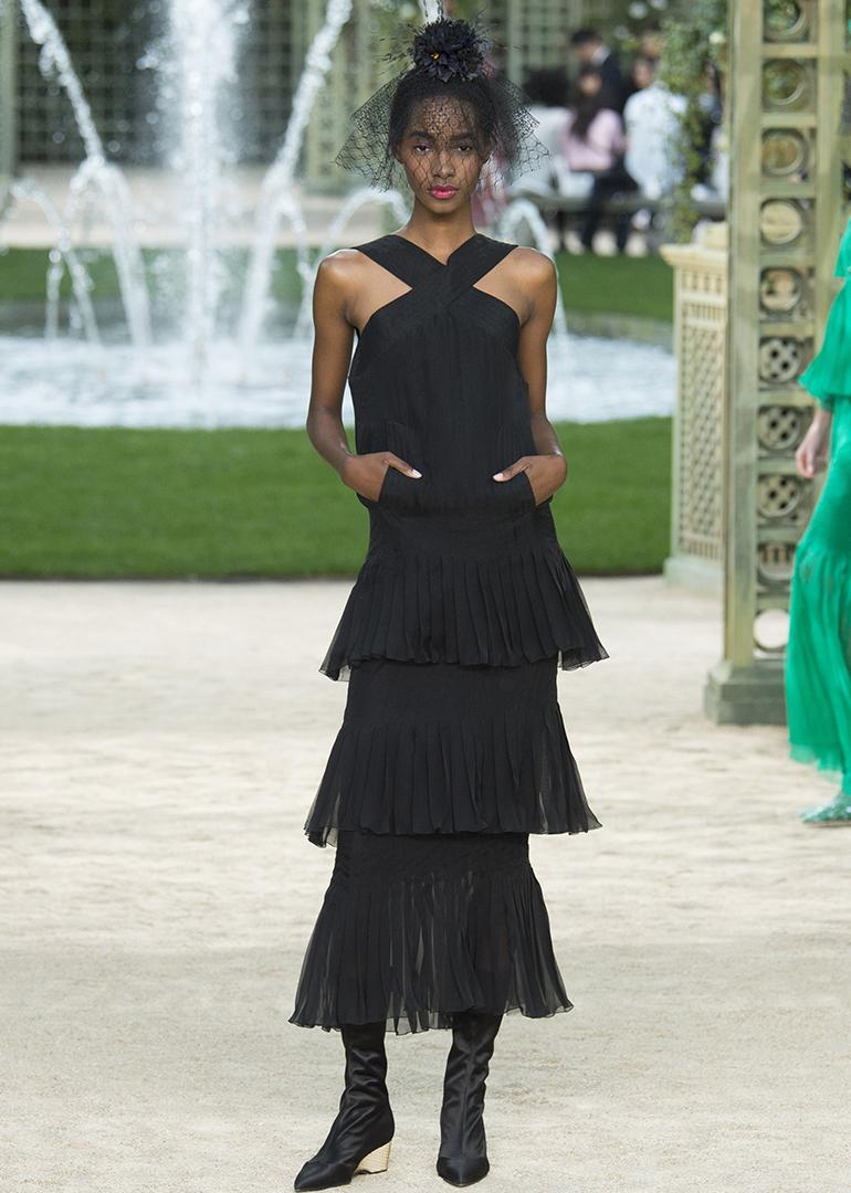Chanel 2018 春夏高訂系列於巴黎時裝周展出