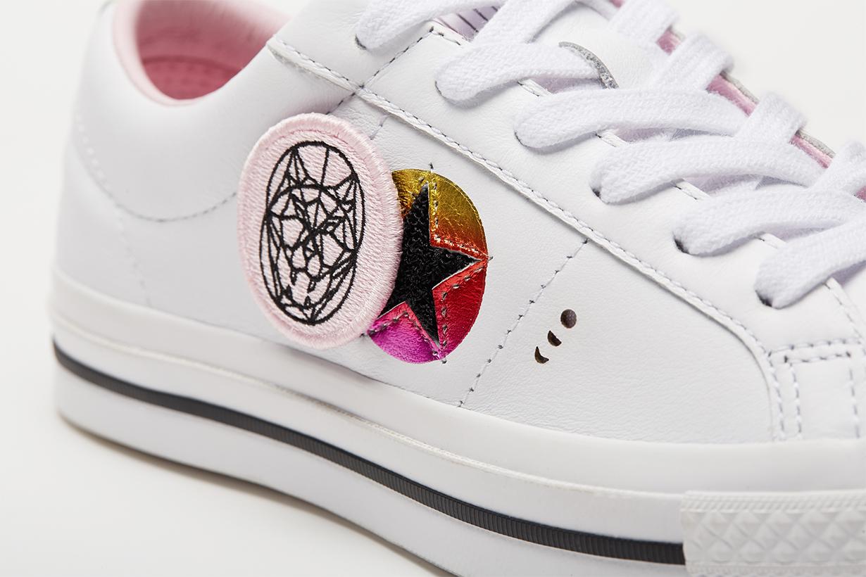 Converse 2018 農曆新年系列以天狗食日為主題推出白色 One Star  波鞋