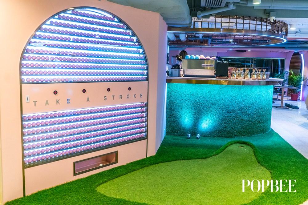 Mini Golf 俱樂部 千禧粉主題 香港 Strokes