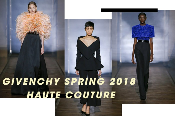 #PFW Givenchy 春夏高訂系列:回歸本源,從剪裁建構女性專屬的身體藝術